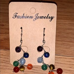 Fashion Jewelry Dangle bead earrings new